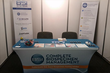 Photo of the IMS ESBB Exhibitor Booth